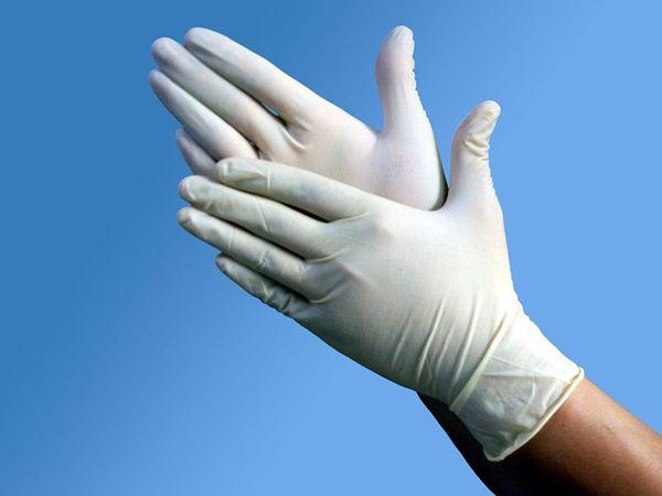 Обработку нужно проводить в перчатках