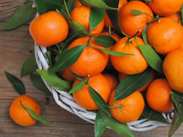 Мандарины богаты витаминами