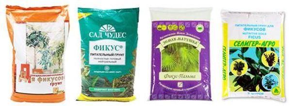 В магазинах можно купить готовый грунт