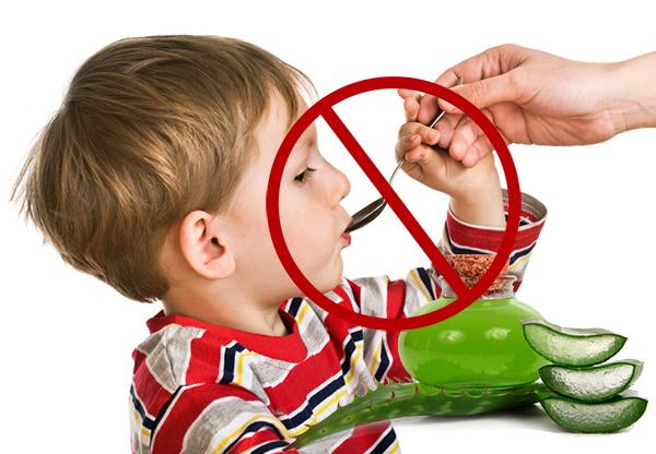Настойки запрещено давать детям до 12 лет